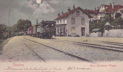La petite gare du village