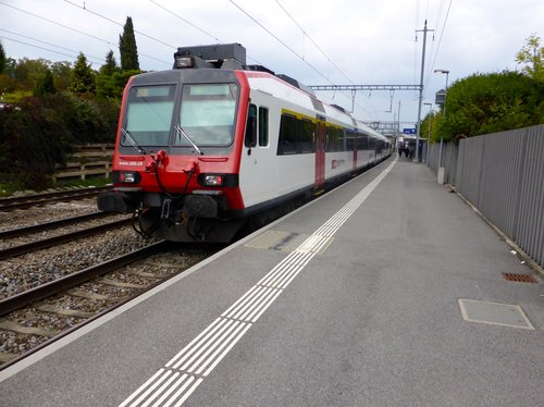 Chambésy, la gare