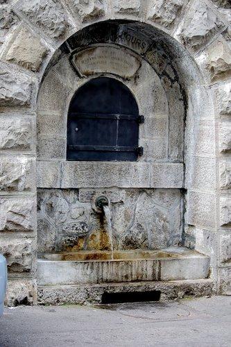 Fontaine à l'ours
