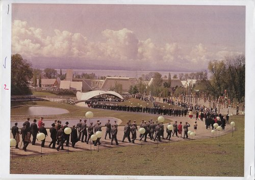 Expo 64, journée inaugurale