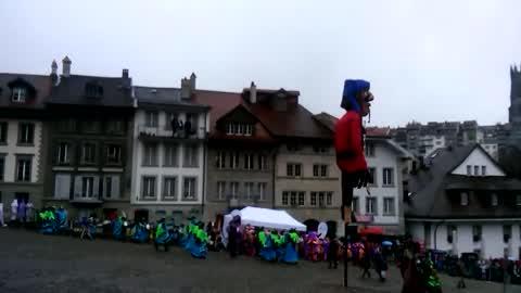Le Rababou des enfants du 48ème Carnaval des Bolzes 2016