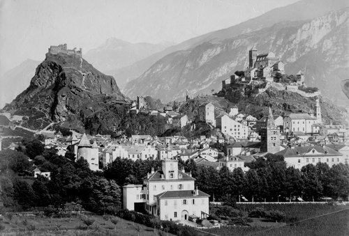 Sion en 1875