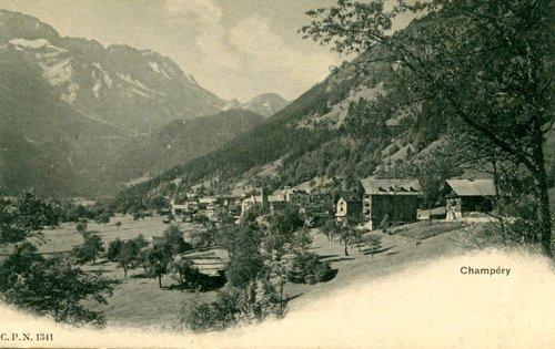 Le village de Champéry