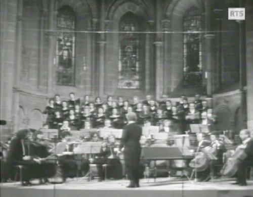 «Magnificat de Bach - Michel Corboz», 2 mars 1973, Cathédrale de Genève (01)
