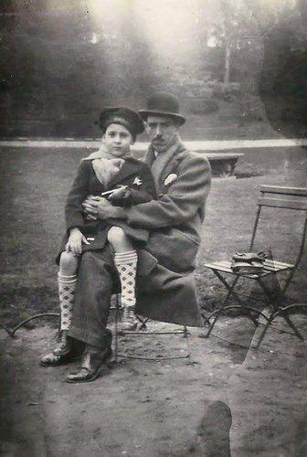 Père et fils au parc