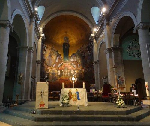 Choeur de la Basilique Notre-Dame du Valentin