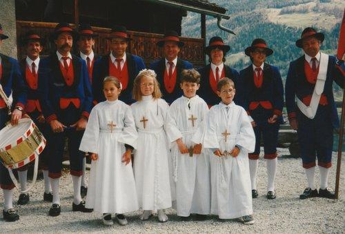 Première communion en 1997