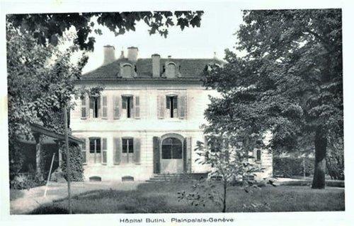 L'Hôpital Butini à Genève