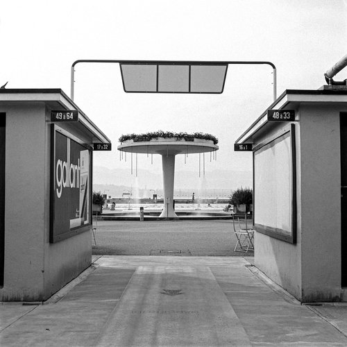 Genève-Plage et la piscine