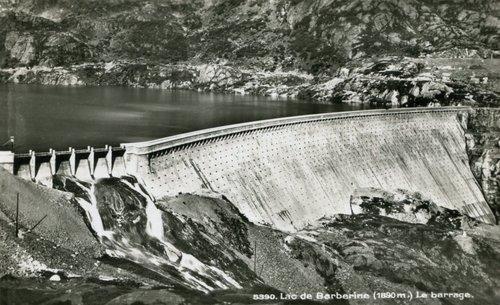 Le barrage de Barberine