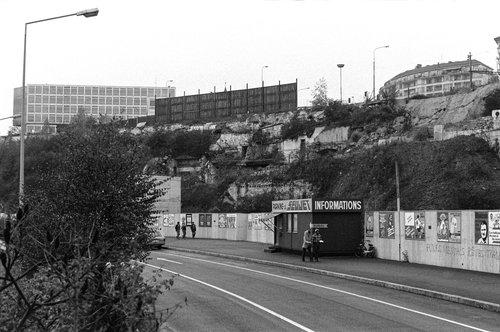 Genève, le Quai du Seujet en 1979
