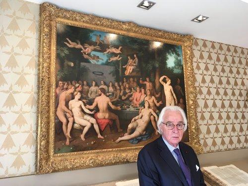 Les paris risqués du financier américain Bernard Cornfeld