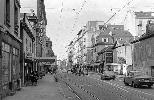 Genève, rue de Carouge