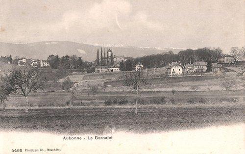 Aubonne, le Bornalet