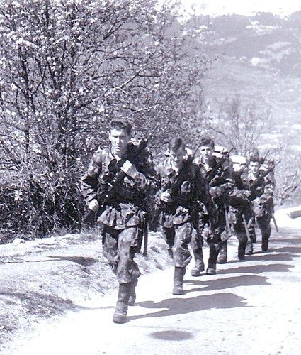 ER infanterie de montagne 1960