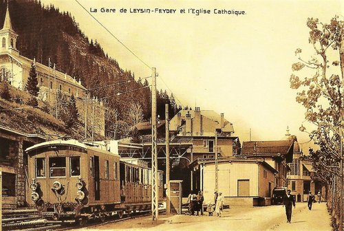 A-L chemin de fer Aigle Leysin