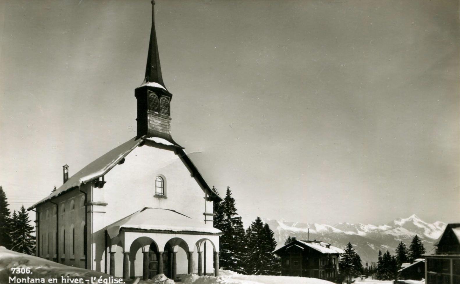 Montana, l'église Sacré-Cœur