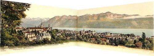 Vue panoramique depuis Lausanne