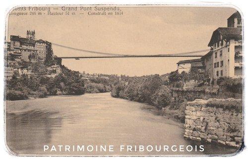 Fribourg - Grand Pont suspendu