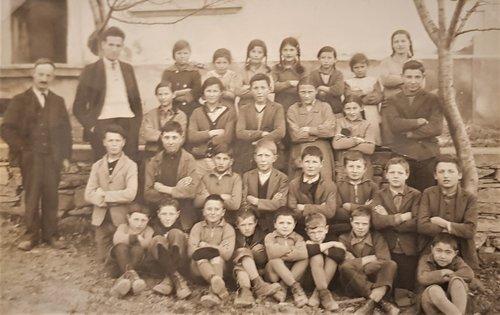 Ecole de Chandolin vers 1935