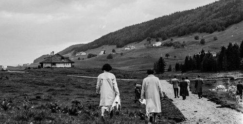 Retour à l'Alpage du Carroz