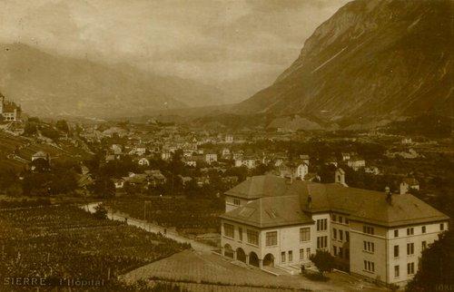 L'ancien hôpital de Sierre