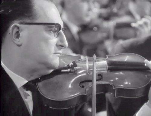 Camille SAINT-SAENS, Concerto pour violon No 3, Michel SCHWALBÉ, OSR, Frederik PRAUSNITZ, 4 janvier 1961, Grand Studio de la Radio de Genève