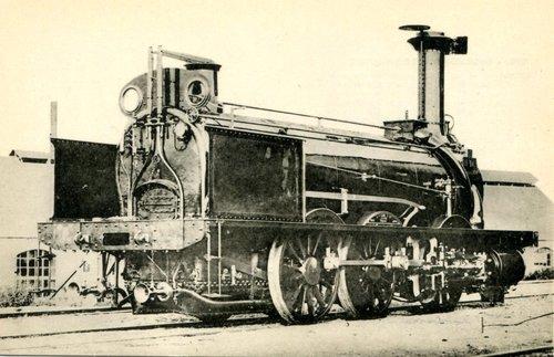 "Locomotive, ""La Vaux"""