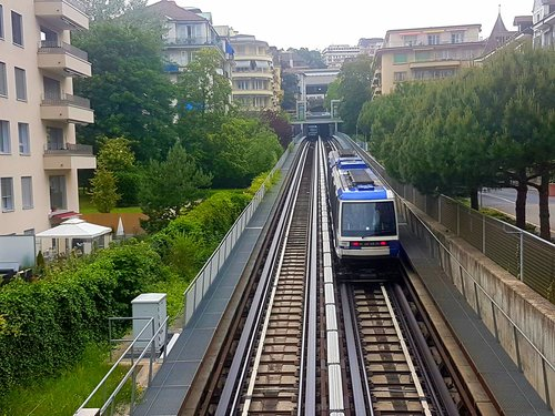 """La """"ficelle"""" de Lausanne en 2018"""