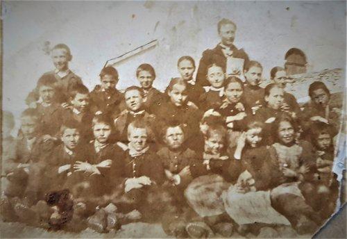 Ecole de Chandolin vers 1902