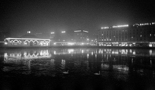Genève, le Pont de la Machine