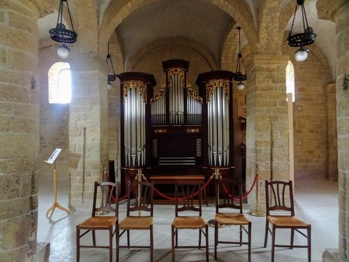 Romainmôtier - Orgue à la chapelle Saint-Michel