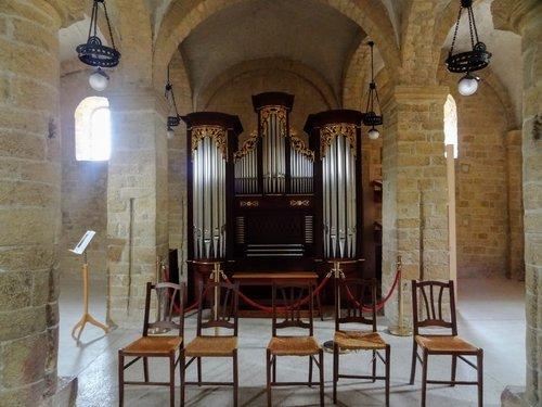 Romainmôtier - Orgue à la chapelle Saint-Michel