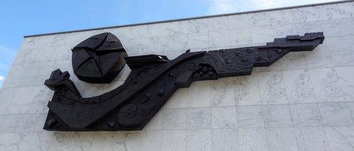 Bas-relief de Paul Bianchi