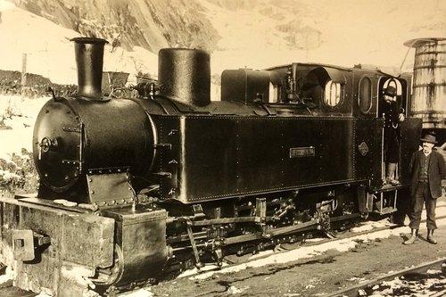 Locomotive de la Furka-Oberalp