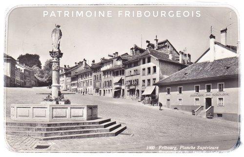 Fribourg - Planche supérieure