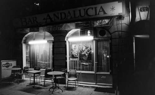 Genève, le Bar Andalucia aux Grottes