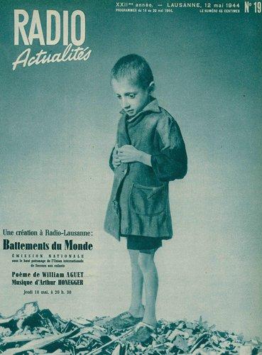 Arthur HONEGGER, Battements du monde, H 176, OSR, Ernest ANSERMET, 1944