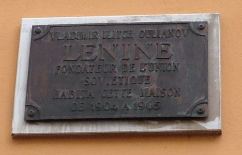 """Plaque """"Lénine, 1904-1905"""""""