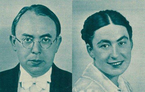 Suzy et Laszlo Krausz (1940)