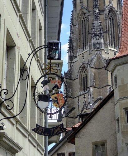 Fribourg - Café du Tunnel