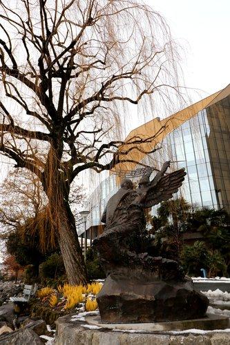 "Sculpture ""Igor Stravinsky "" à Montreux"