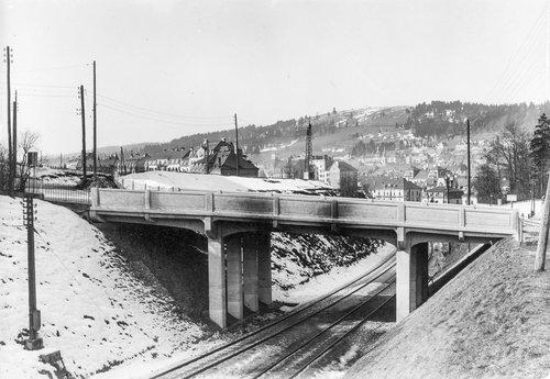 Pont du Grenier, La Chaux-de-Fonds (1920)
