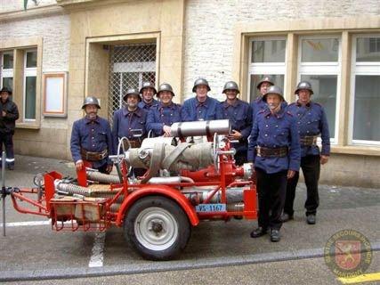 100 ème Sapeurs-Pompiers Vaudois