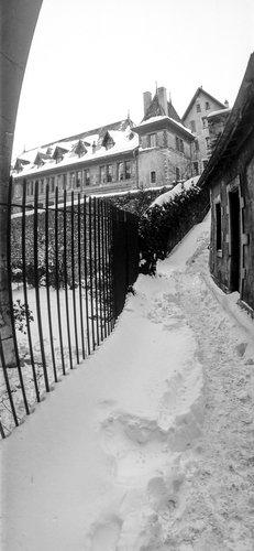 Genève, le bas du passage Mathurin cordier