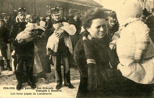 Les évacués français