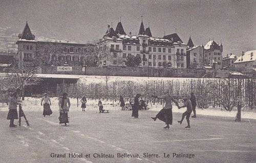 Patinage sur la plaine Bellevue