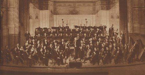 Visages de l'OSR - L'orchestre en 1938