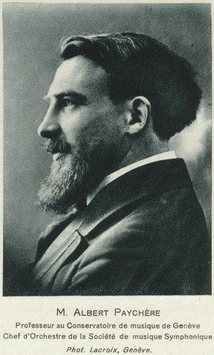 Albert PAYCHÈRE vers 1918
