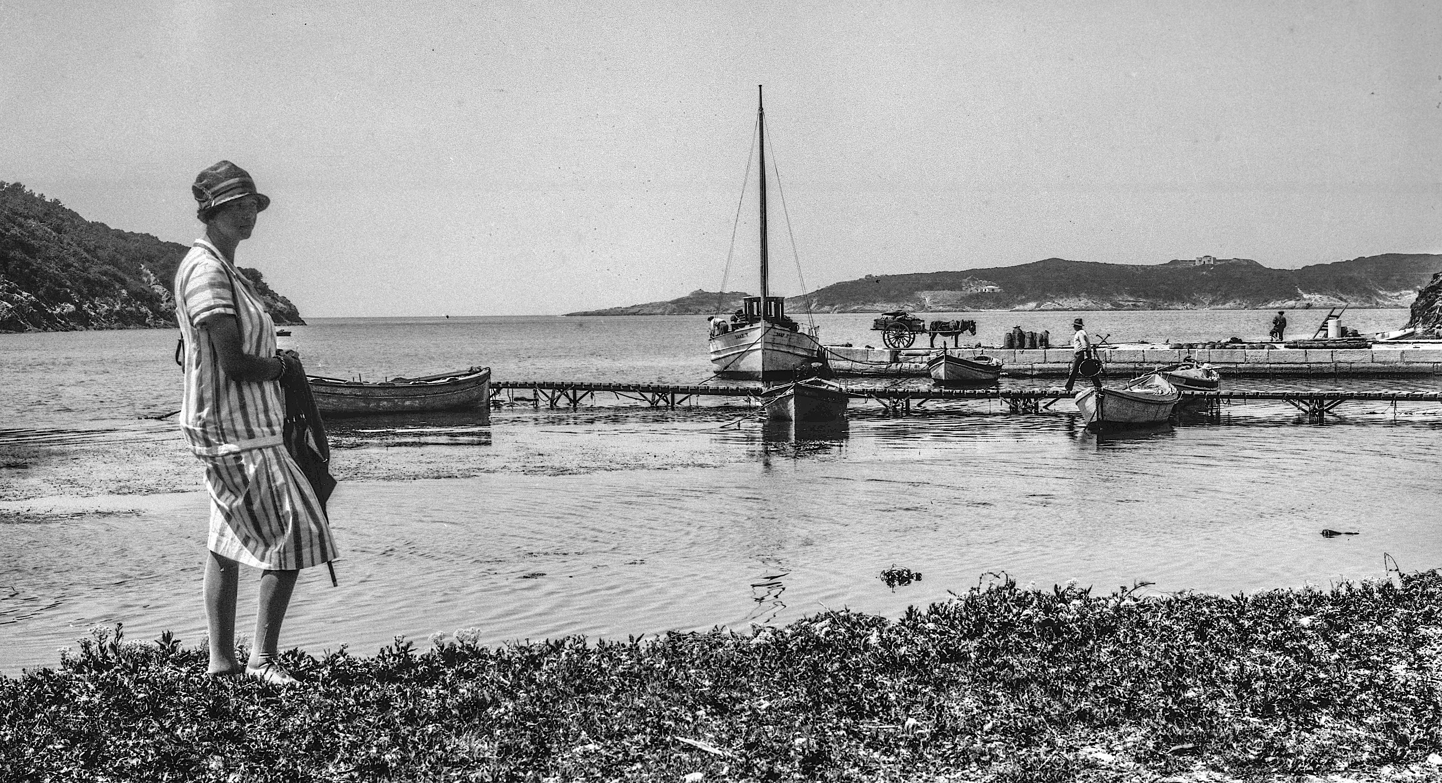 Suzanne à Port Cros